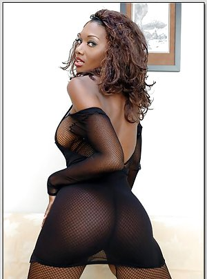 Hot Ebony Pantyhose