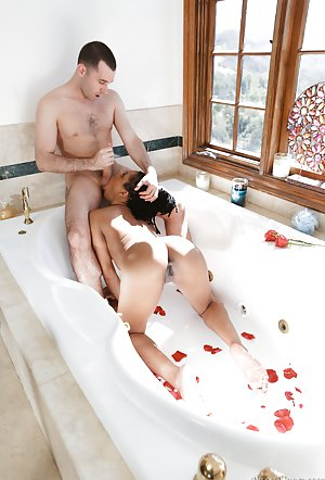 Hot Ebony Bath
