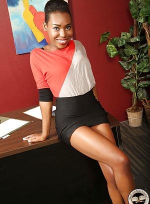 Hot Ebony Skirt